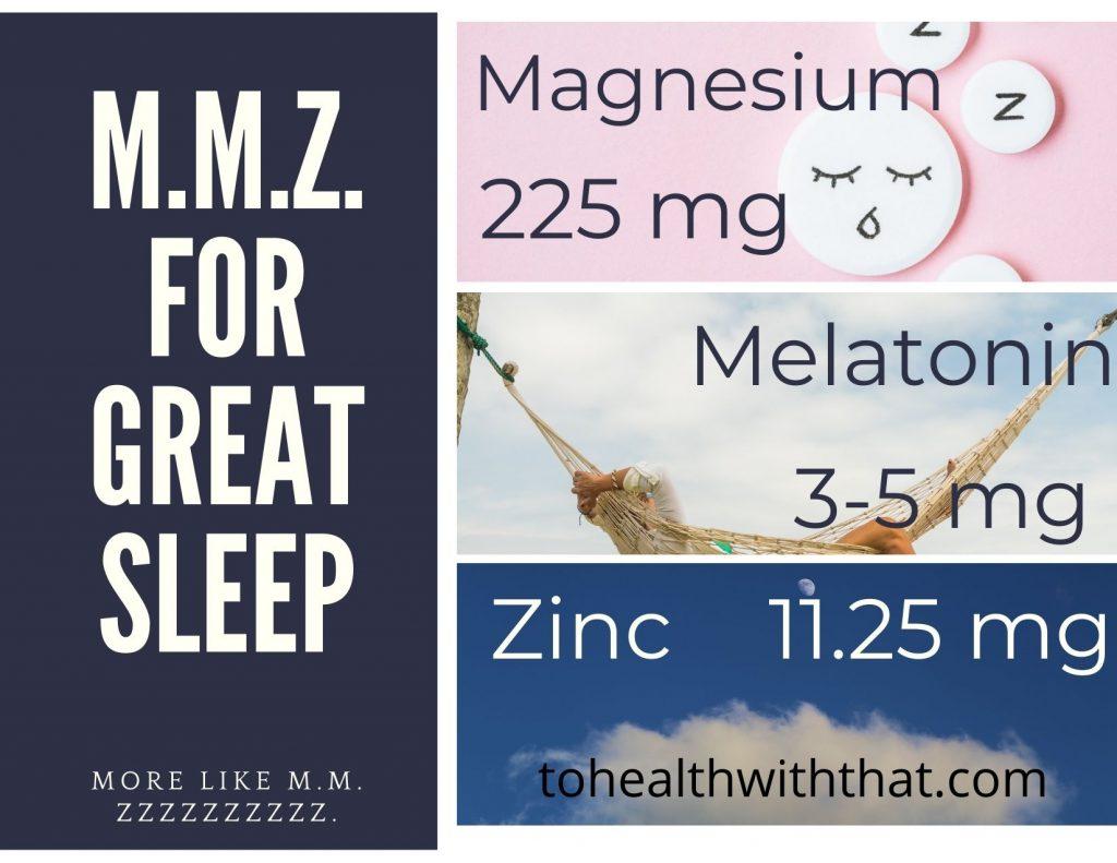 MTHFR and fatigue, MTHFR and energy and MMZ for sleep
