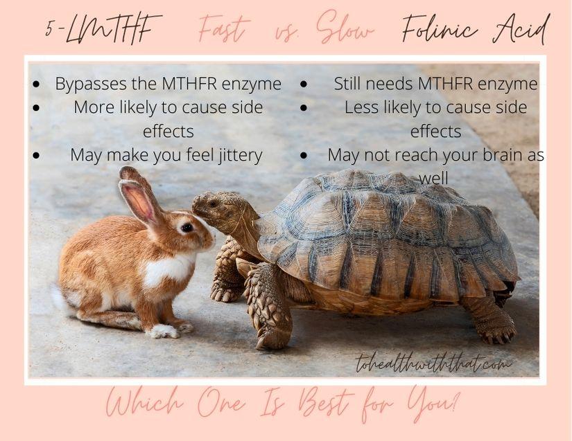 5-LMTHF vs. folinic acid