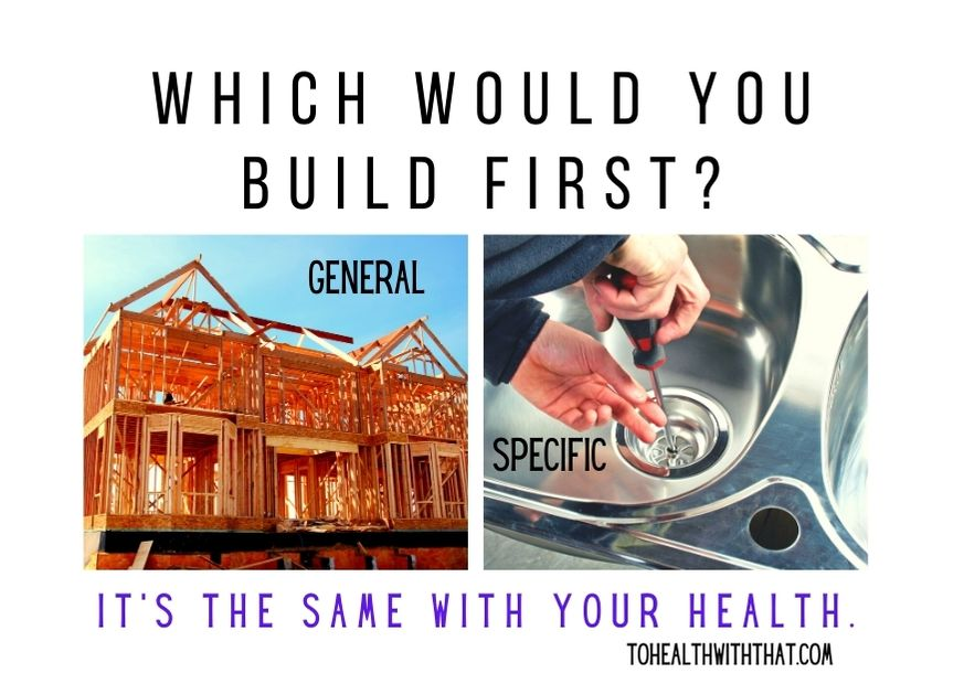 In health it is best to go from general to specific whenever possible, just like with construction. Healing MTHFR is no exception.