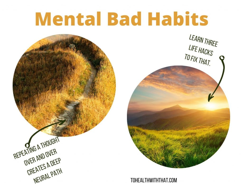 mental bad habits in anxiety and depression