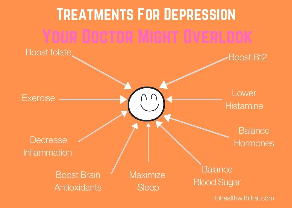 MTHFR and depression gives you so many treatments options