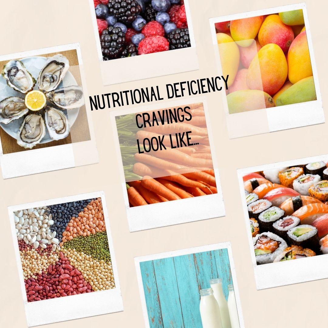 nutritional deficiency food cravings look like this