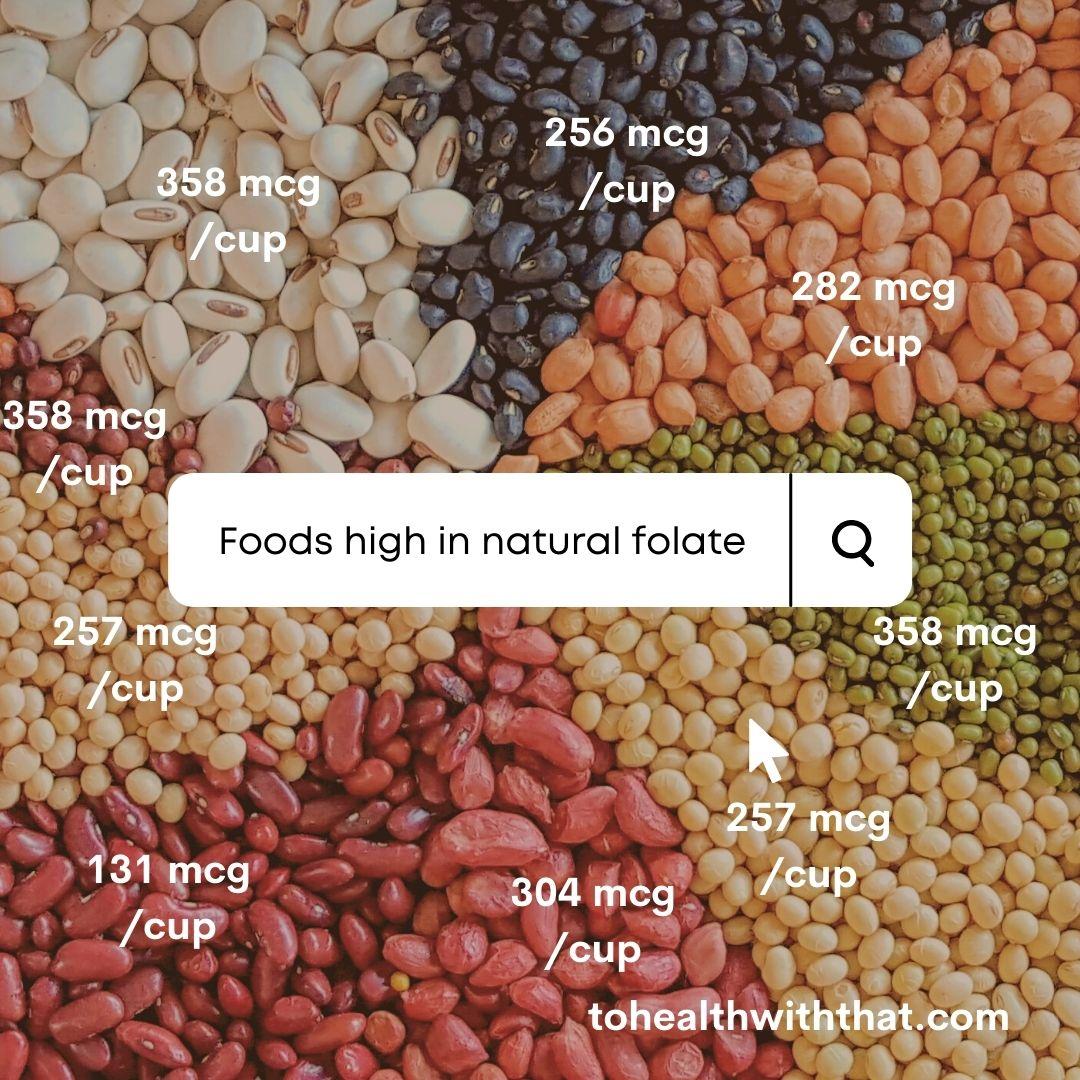 S2E4: Adding Food Sources of Folate